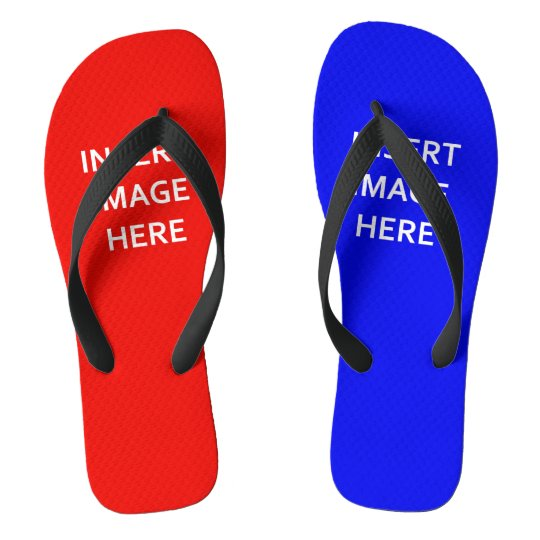 Custom Flip Flop Summer Sandal Thong Template DIY