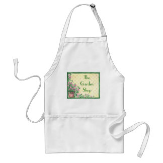 Custom Floral Background Aprons