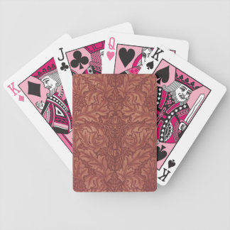 Custom Floral in Pink Deck of Cards