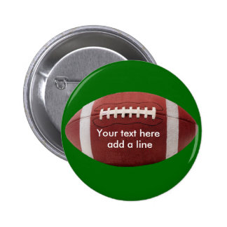 CUSTOM Football Button