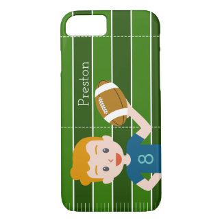 Custom Football iphone 7 or 7 plus case