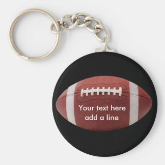 Custom Football Key Chain