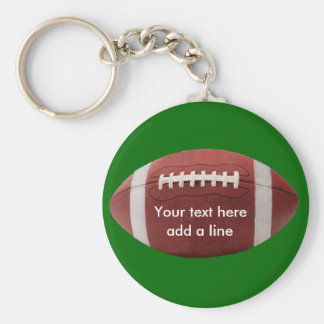 Custom Football Key Chain