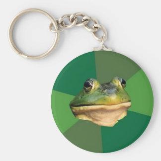 Custom Foul Bachelor Frog Keychain