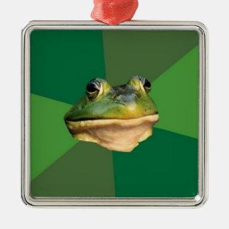 Custom Foul Bachelor Frog Ornament