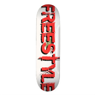 Custom Freestyle Graphic Skateboard 1 (see notes)
