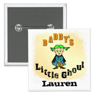 Custom Funny Name Halloween Button
