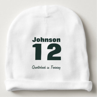 Custom Future Athlete Baby Cotton Beanie Baby Beanie