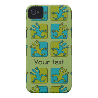 Custom Gecko / Lizard iPhone 4 Case-Mate