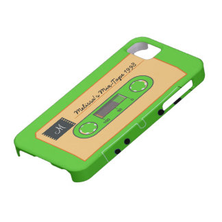 Custom Geen Mix-Tape Case For The iPhone 5