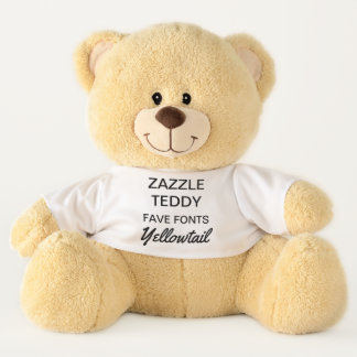 "Custom Giant 21"" Teddy Bear Template YELLOWTAIL"