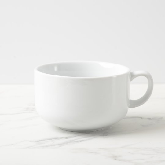 Custom Giant 28oz Porcelain Soup Mug