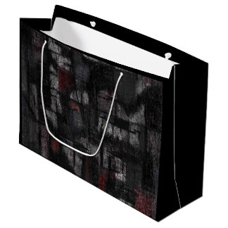 "Custom Gift Bag - Large, Glossy ""Tango"""