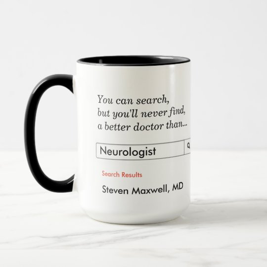 Custom Gift for Neurologist Mug