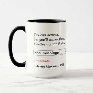 Custom Gift for Rheumatologist Mug