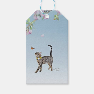 Custom Gift Tags featuring Tabatha, the Tabby
