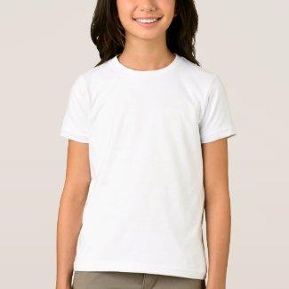 Custom Girls Basic American Apparel T-Shirt