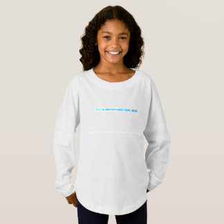 custom girls' spirit jersey shirt