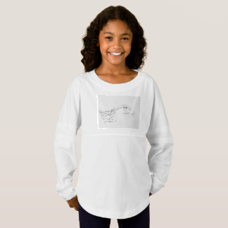 Custom Girls' Spirit Jersey Shirt Philippine Eagle
