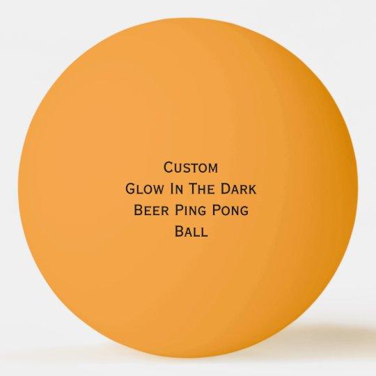 Custom Glow In The Dark Colours Beer Ping