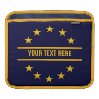 CUSTOM GOLDEN STARS laptop / iPad sleeve