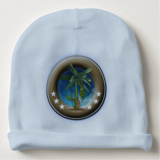 Custom Gorrito of blue cotton for babies Baby Beanie