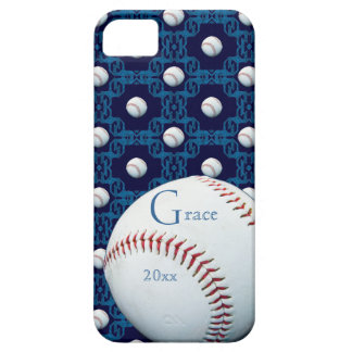 Custom Grace Baseball Motif Iphone 5 Case