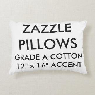 Custom Grade A Cotton Accent Pillow Blank Template