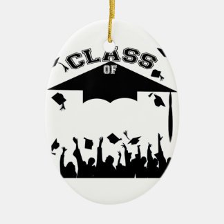 Custom Graduation Ceramic Oval Decoration