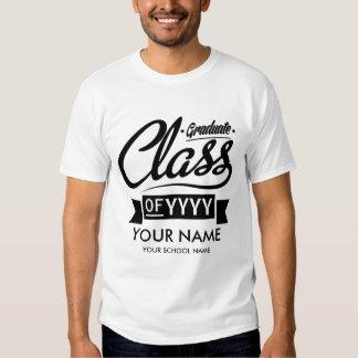 Custom Graduation (Name, School Name, & Grad Year) T Shirt