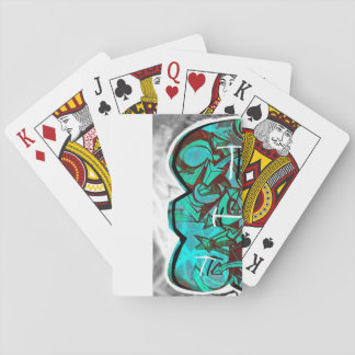 Custom Graffik Deck of Playing Cards by CABVASQUEZ