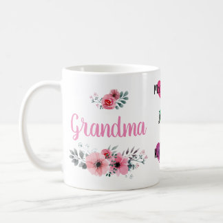 "Custom ""Grandma"" Mug with Grandchildrens' Names"