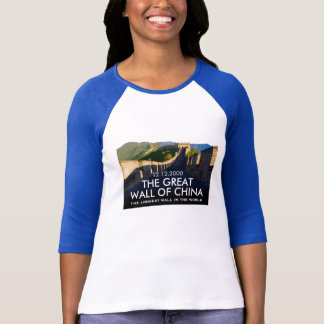Custom Great Wall of China Commemorative T-Shirt