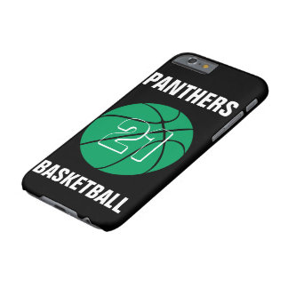 Custom Green Basketball Number & Team Phone Case