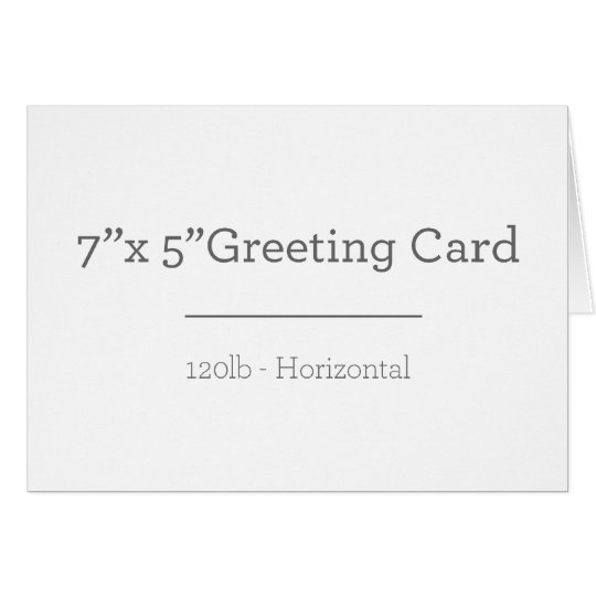 Greeting Card, Standard white envelopes included