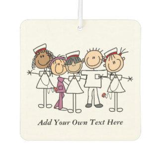 Custom Group of Nurses Air Freshner