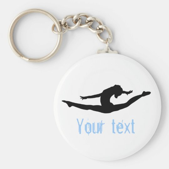 Custom Gymnastics Dance Cheer Keychains