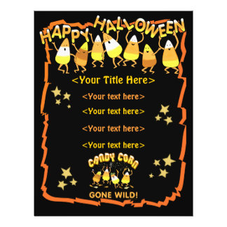 Custom Halloween Business or Personal 21.5 Cm X 28 Cm Flyer