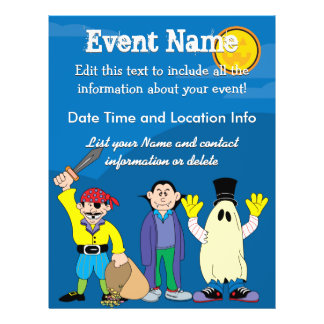 Custom Halloween Costumes 21.5 Cm X 28 Cm Flyer