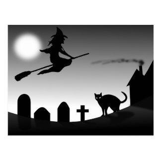 Custom Halloween Postcards