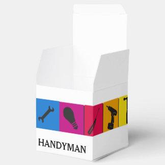 Custom Handyman Colored Repair Carpenter Tools Favour Box