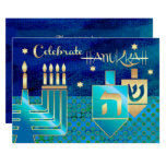 Custom Hanukkah Celebration Party Invitations