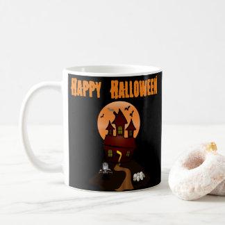 Custom Haunted House Halloween Mug