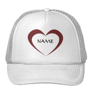 Custom Heart Hats