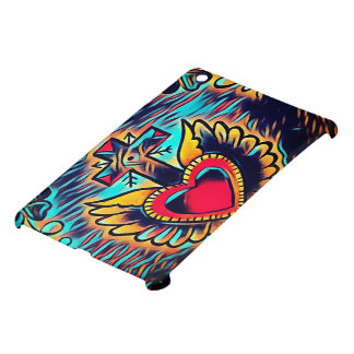 custom heart tattoo ipad mini case