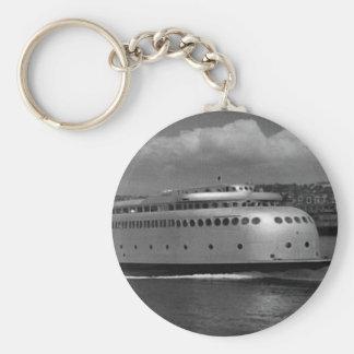Custom historic photo key chain