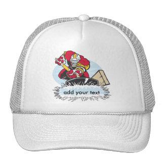Custom Hockey Player Hats
