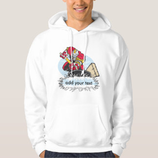 Custom Hockey Player Hoodie