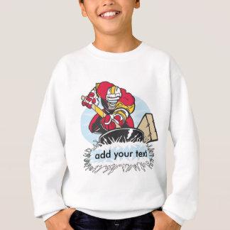 Custom Hockey Player Sweatshirt