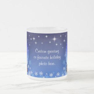 Custom Holiday Cheer Mug - 2009 Snowglobe
